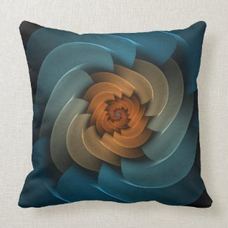 Whistling in the Dark Square Throw Pillow mojo_throwpillow