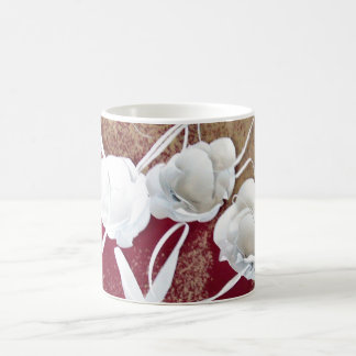 Whit on Red by obert E Meisinger 2014 Coffee Mug
