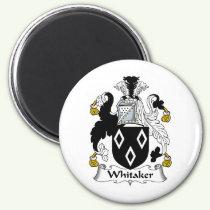 Whitaker Family Crest Magnet