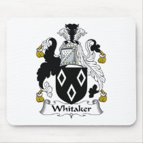 Whitaker Family Crest Mousepad