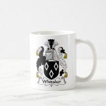 Whitaker Family Crest Mug