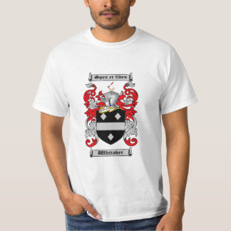 Whitaker Family Crest / Whitaker Coat of Arms T-Shirt