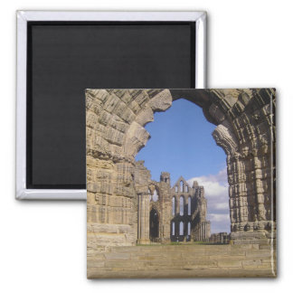 Whitby Abbey 2 Inch Square Magnet