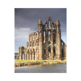 Whitby Abbey Stretched Canvas Prints