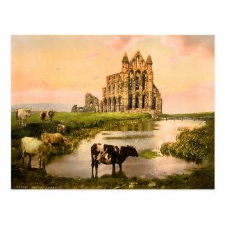 Whitby Abbey England 2015 Calendar Postcard