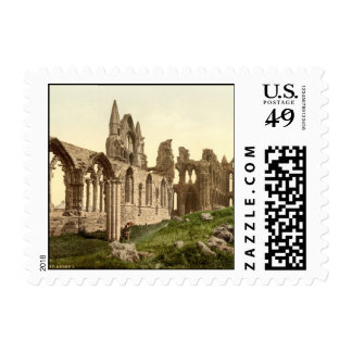 Whitby Abbey I, Whitby, Yorkshire, England Postage Stamps