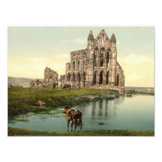 Whitby Abbey II, Whitby, Yorkshire, England Photo Art