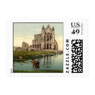 Whitby Abbey II, Whitby, Yorkshire, England Postage Stamps