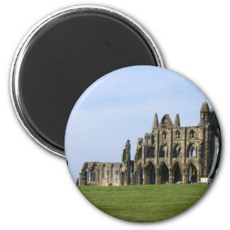 Whitby Abbey In North Yorkshire Magnet