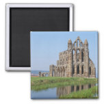Whitby Abbey North Yorkshire 2 Inch Square Magnet