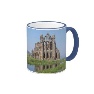 Whitby Abbey  North Yorkshire Ringer Coffee Mug