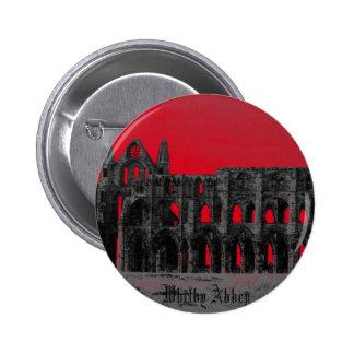 Whitby Abbey Pinback Button