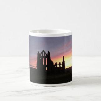Whitby Abbey, UK, England Classic White Coffee Mug