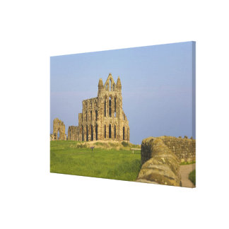 Whitby Abbey, Whitby, North Yorkshire, England Canvas Print