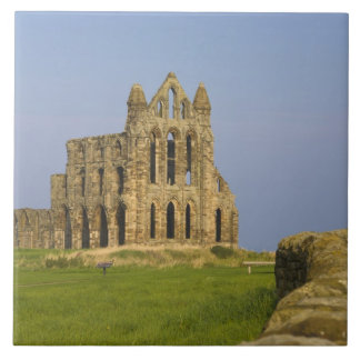 Whitby Abbey, Whitby, North Yorkshire, England Ceramic Tile