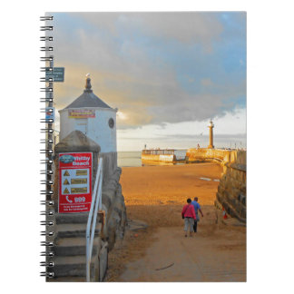 Whitby Beach Notebook