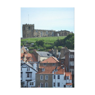 Whitby Stretched Canvas Prints