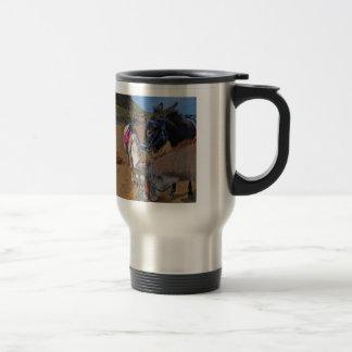 Whitby Donkeys Travel Mug