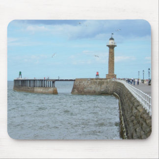 Whitby en North Yorkshire, Inglaterra Mouse Pads