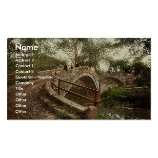 Whitby, Glaisdale, el puente de los mendigos, York Plantillas De Tarjeta De Negocio
