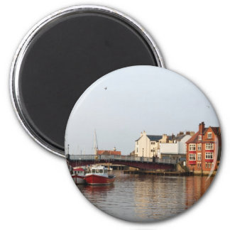 Whitby Harbor Magnet