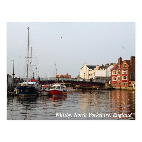 Whitby Harbor Postcard