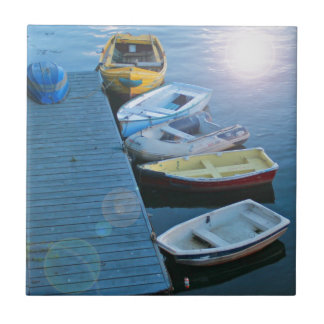Whitby Harbour Tile
