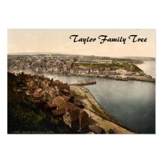 Whitby I, árbol de familia de Yorkshire, Inglaterr Tarjeta De Negocio