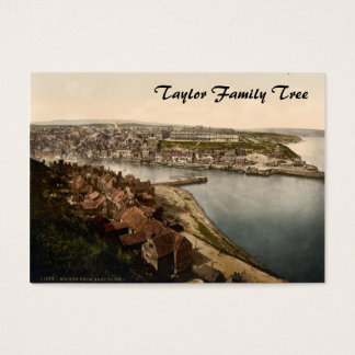 Whitby I, Yorkshire, England Family Tree Business Card