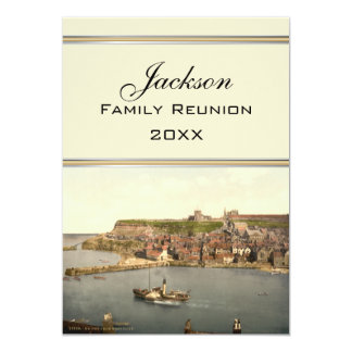 Whitby II, Yorkshire, England Family Reunion Card