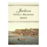 Whitby II, Yorkshire, England Family Reunion 5x7 Paper Invitation Card