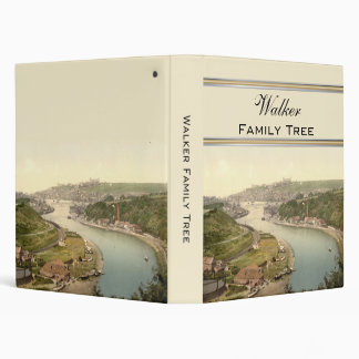 Whitby III, Yorkshire, England Family Tree 3 Ring Binder