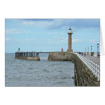 Whitby in North Yorkshire, England. Greeting Cards
