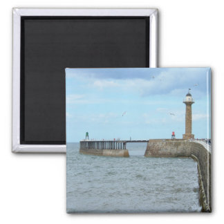 Whitby in North Yorkshire, England. Refrigerator Magnet