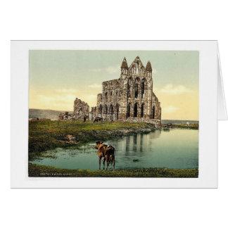 Whitby la abadía II Yorkshire Inglaterra pH r Felicitacion