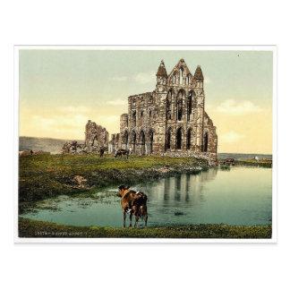 Whitby la abadía II Yorkshire Inglaterra pH r Postal