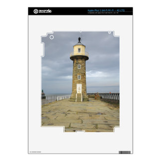 Whitby lighthouse decals for iPad 3