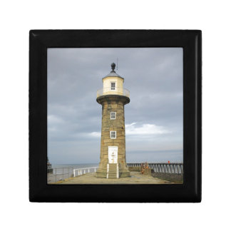 Whitby lighthouse gift box