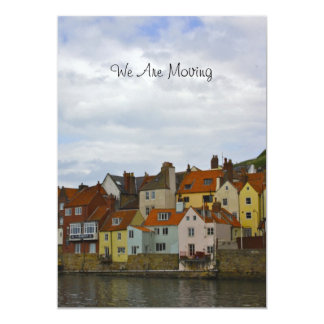 Whitby, North East Coastal Town of England Card
