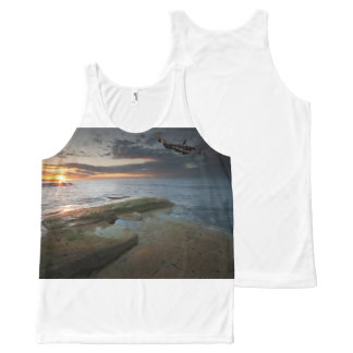 Whitby, North Yorkshire All-Over Print Tank Top
