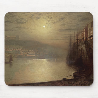 Whitby (oil on canvas) mouse pad