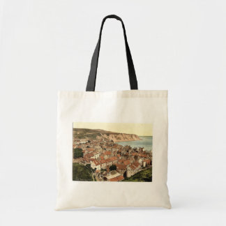 Whitby, Robin Hood's Bay, Yorkshire, England rare Tote Bags
