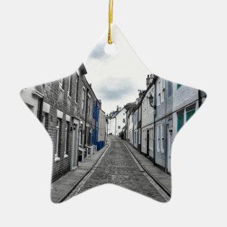 Whitby Street Ceramic Ornament