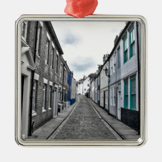 Whitby Street Metal Ornament