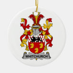 Whitchurch Family Crest Christmas Ornaments