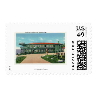 Whitcomb Summit Hotel and Souvenir Shoppe View Postage Stamp