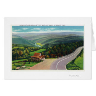 Whitcomb Summit of Deerfield River Valley Card