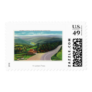 Whitcomb Summit of Deerfield River Valley Postage Stamp