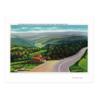 Whitcomb Summit of Deerfield River Valley Postcard