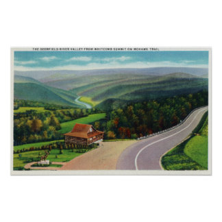 Whitcomb Summit of Deerfield River Valley Poster
